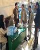 برپایی چادر صحرایی و کانکس درمانی سازمان تامین اجتماعی در سرپل ذهاب