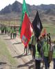 کاروان طولانی ترین پیاده روی اربعین به مشهد برگشت