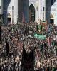 مشهد مقدس غرق در ماتم امام مهربانیها / حضور میلیونی عزاداران در خیابانهای منتهی به حرم مطهر رضوی