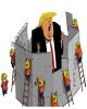 آمریکایی ها ماندن در کاخ سفید را برای ترامپ سخت کردند