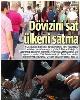 صفحه اول روزنامه «ینى شافاک» ترکیه +عکس