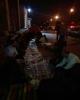 کارکنان سهام عدالت شب را در خیابان گذراندند/ادامه اعتراضات با طلوع آفتاب