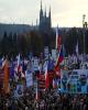 تظاهرات چند صد هزار نفری علیه نخستوزیر جمهوری چک