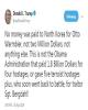 واکنش ترامپ به مطالبه 2 میلیون دلاری «اون»: من اوباما نیستم!