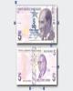 ترکیه اسکناسهای جدید ۵، ۵۰ و ۲۰۰ لیرهای را معرفی کرد