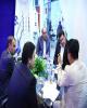 بازدید عضو هیات مدیره بانک رفاه ازنمایشگاه های ایران هلث واینوتکس