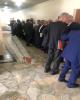 صف مدیران متهم در پرونده بانک سرمایه در حین ورود به دادگاه