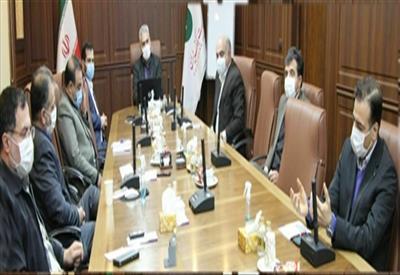 نشست مشترک مدیرعامل پستبانک با رئیس مرکز بازرسی وزارت ارتباطات