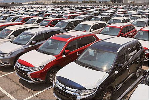 خودروهای دپو شده در مناطق آزاد