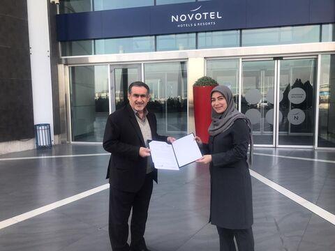 امضای تفاهمنامه همکاری هتلهای فرودگاهی با نمایشگاه شهر آفتاب