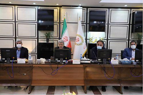 بررسی عملکرد ۱۰ ماهه امور شعب بانک ملی ایران در استان بوشهر