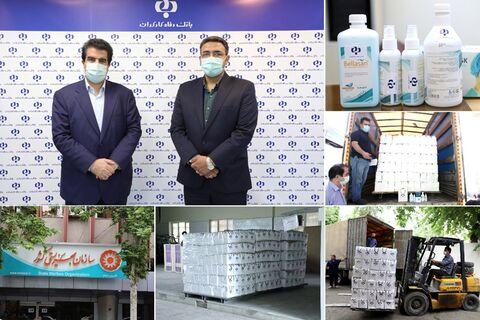 توزیع ۶ هزار بسته بهداشتی و ضدعفونی کننده در بین مددجویان بهزیستی