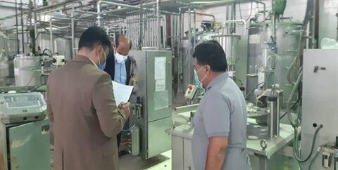 یک واحدتولیدی محصولات لبنی پس از۱۰سال تعطیلی به چرخه تولید بازگشت