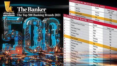 «پاسارگاد» در میان ۵۰۰ بانک برتر در جهان