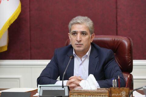 بازدید مدیرعامل بانک ملی ایران از بیمارستان بانک