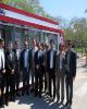 افتتاح پایگاه شبانه روزی دومنظوره بانک ملت در کیش با حضور رییس هیات مدیره