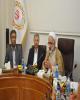 جلسه مشترک شورای مشاوران ایثارگران وزارت امور اقتصادی و دارایی در بانک ملی ایران