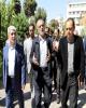 بازدید نایب رئیس اول مجلس شورای اسلامی از بانک ملی ایران