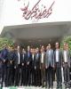 بازدید مدیرعامل بانک ملت از شرکت تجهیزات پزشکی هلال ایران