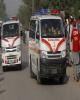 ۵۴ کشته و زخمی در سانحه برخورد دو اتوبوس در پاکستان