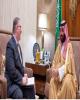 دیدار بن سلمان با یک هیات از رهبران مسیحیان پروتستان آمریکایی در ریاض
