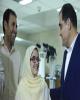 آخرین وضعیت درمانی دختر فداکار سرپل ذهابی از زبان وزیر بهداشت