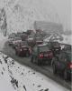 ترافیک سنگین در جادههای البرز/بدون زنجیرچرخ به جاده چالوس نروید