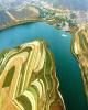 این دریاچه زیبا را زلزله پدید آورد! (عکس)