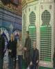 رونمایی از نیمضریح حضرت زینب(س) در کرمانشاه