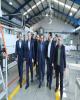 بازدید مدیرعامل بانک ملت از مجموعه شرکت های گروه صنعتی گلرنگ