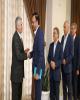 دیدار نوروزی مدیرعامل و اعضای هیات مدیره بانک دی با کارکنان ستاد