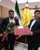 تقدیر از مشتری وفادار و برنده جایزه طرح کیان بانک پارسیان