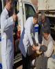 اعزام تیم پزشکی بیمارستان بانک ملی ایران به مناطق زلزله زده