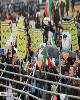 فرزند رهبر انقلاب در راهپیمایی ۲۲ بهمن+عکس