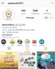 اینستاگرام بانک ملی ایران ۱۰۰ هزار تایی شد