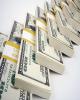 دلار یک پله عقبتر رفت