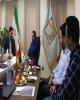 حضور دکتر صالح آبادی در شرکت تجارت معماران آفتاب در هرمزگان