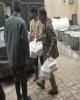 خدمت رسانی موکب شهدای بانک ملی ایران در مناطق سیل زده پلدختر