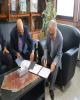 امضای تفاهم نامه مابین شرکت گاز استان گیلان و بانک رسالت