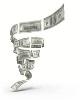 نمودار تغییرنرخ دلار در10-11-12 اردیبهشت 98