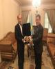 دیدار و گفتگوی مدیر کل بنادر و دریانوردی استان با سفیر قزاقستان در تهران