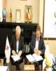 امضای قرارداد میان سازمان صنایع کوچک و شهرکهای صنعتی ایران و بانک صنعت و معدن