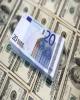 کاهش قیمت رسمی یورو و پوند