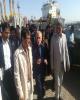 بازدید وزیر اقتصاد از گمرک و پروژههای اقتصادی بندر امام خمینی