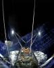 نجات یکی از قطعات فالکون هوی پیش از سقوط در اقیانوس