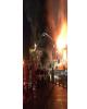 آتش سوزی میدان تاریخی حسن آباد مهار شد / اعلام علت و میزان خسارت بعد از بررسی کارشناسان+ فیلم
