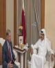 تقدیر هیئت آمریکایی از اقدامات قطر در غزه و برقراری صلح در افغانستان