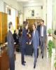 دیدار صمیمانه عضو هیات مدیره بانک ملی ایران با کارکنان و مشتریان