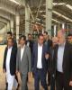 بازدید وزیر صنعت، معدن و تجارت از طرحهای تامین مالی شده بانک