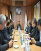 مدیرعامل بانک توسعه تعاون با استاندار استان مرکزی دیدار کرد